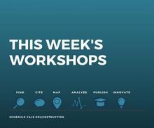 csssi weekly workshops