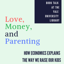 Love Money and Parenting book talk
