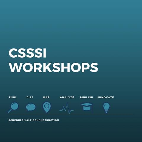 logo for workshops at the csssi