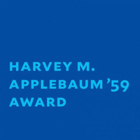 Applebaum Award text